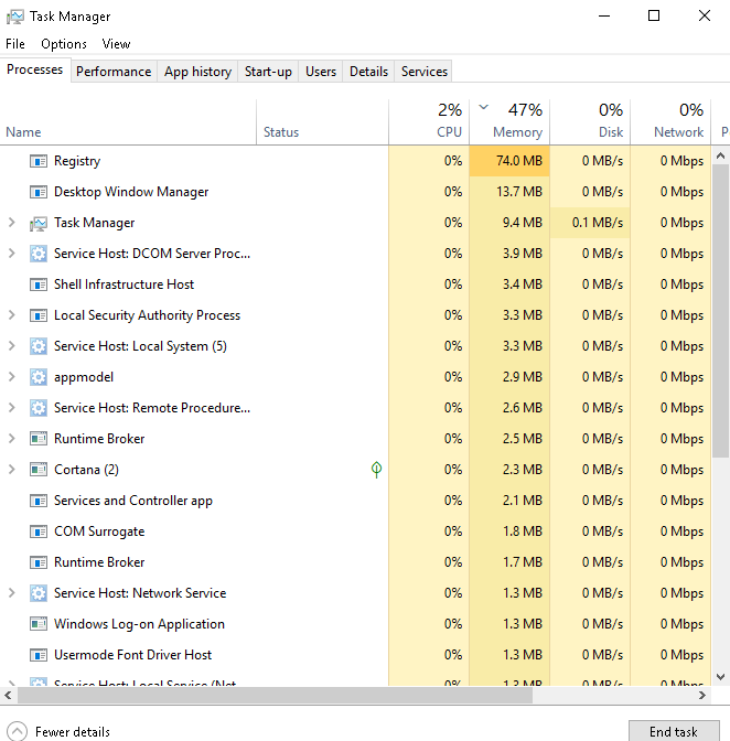 Optimizing Windows 10 Services for increased performance