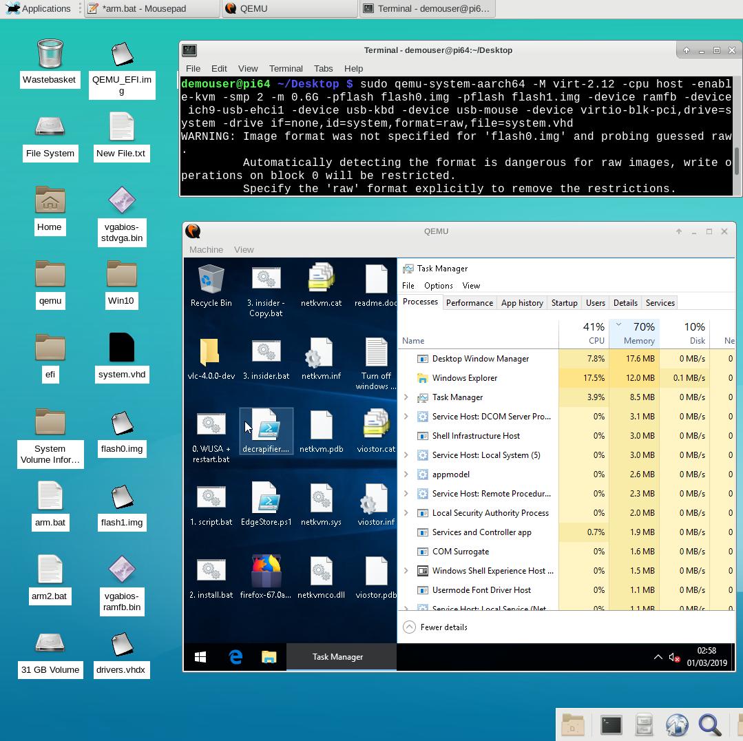 WOA KVM virtual machine on Raspberry Pi - OR ANY SBC OR ARM MOBILE