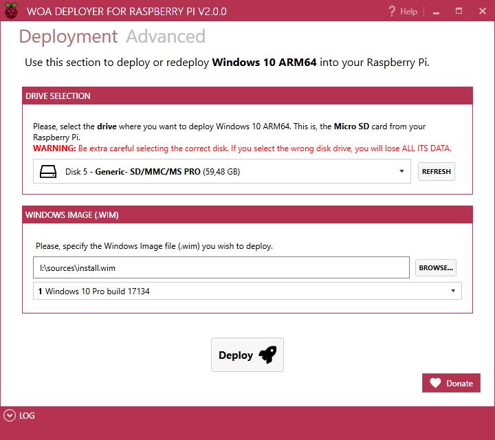 WOA Deployer (AKA WoA Installer 2 0) has been released! - Website